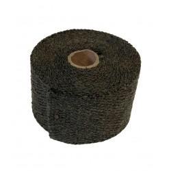 Uitlaatband 5 meter zwart