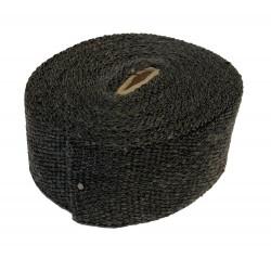 Uitlaatband 10 meter zwart