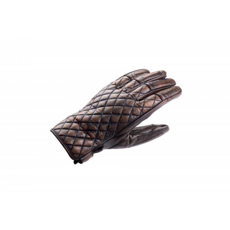 Baldrine handschoenen in bruin en zandkleur