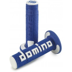 Domino handvatten Cross A360 Blauw/wit
