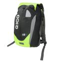 EIGO Rugtas Zwart/neon waterdicht (30 ltr)