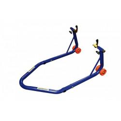 Motoprofessional Paddockstand Basic Blauw (achterzijde)