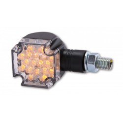 Shin-Yo Knippperlichten LED Cross Zwart  (kort)