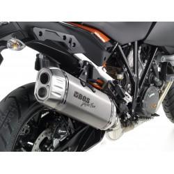 BOS uitlaatdemper Desert Fox RVS KTM1050/1190/1290 Adventure