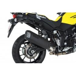BOS uitlaatdemper Desert Fox zwart Suzuki DL1000
