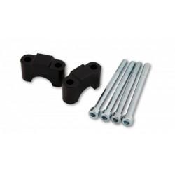 LSL Stuurverhogers Zilver ø28mm (Risers) 30mm