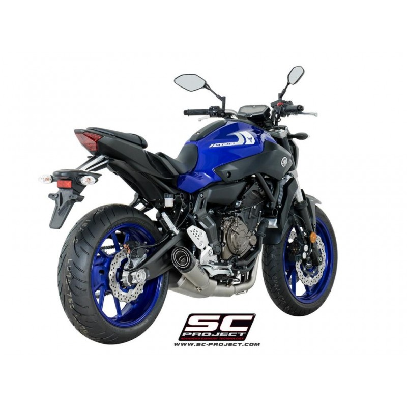 SC-Project uitlaat Suzuki GSX-S750