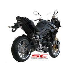 SC-Project uitlaat Oval Low carbon | TRIUMPH TIGER 1050 (2007 - 2012)