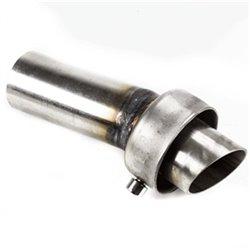 DB Killer (decibel) ø48mm/100mm (met bocht)