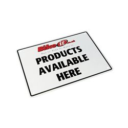 Bike It Aluminium Parking Sign - Bike It Products Available Here
