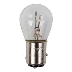 Bike It Clear Rear Light Bulb For Suzuki 12V 21/5W (Pack Of 5)
