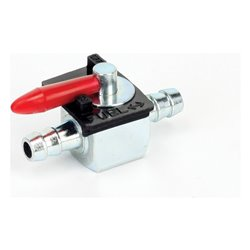 Bike It Metal Bodied Fuel Tap With Dual On/Off Positions - 8mm