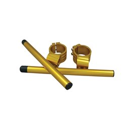 Bike It 50mm High Gold Clip-On Bar Kit