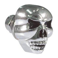 Bike It Chrome Skull Design Bolt (1 Pc)