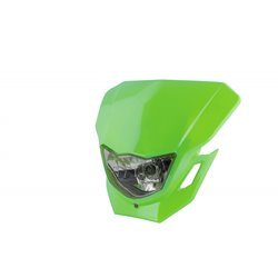 Universal Dart Headlight Green 12V 35/35W