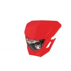 Universal Dart Headlight Red 12V 35/35W
