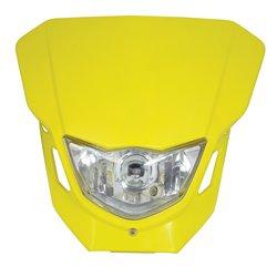 Universal Dart Headlight Yellow 12V 35/35W