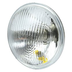 """Inner Headlight Unit For 7"""" Headlight Halogen Left Dip"""
