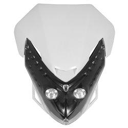 Universal Spectre Fairing Headlight White