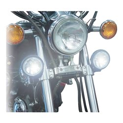 Universal Twin Spot Lights With Halogen Bulb H3-12V