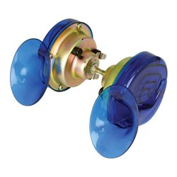 Blue Twin Pack Snail Horn - 12V