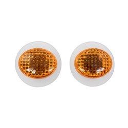Bike It Micro Slim Fairing Indicators With Amber Lens