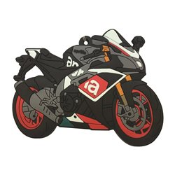 Bike It Aprilia RSV-Millie Rubber Keyfob - 110