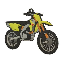 Bike It Suzuki RMZ450 Rubber Keyfob - 111