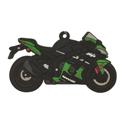Bike It Kawasaki ZX10R Rubber Keyfob - 114