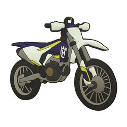 Bike It Husqvarna FC250 16 Rubber Keyfob - 121
