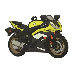 Bike It Yamaha YZF-R6 16 Rubber Keyfob - 126