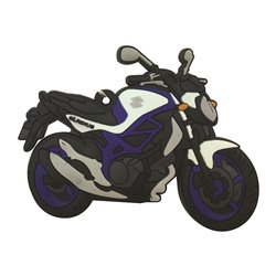 Bike It Suzuki Gladius Rubber Keyfob - 127