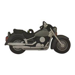 Bike It Yamaha XVS Dragstar Rubber Keyfob - 130