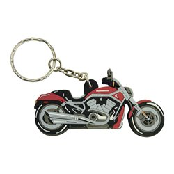 Bike It Harley-Davidson V-Rod Rubber Keyfob - 56