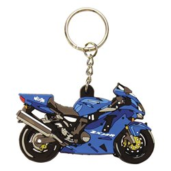 Bike It Kawasaki ZX12R Rubber Keyfob - 74