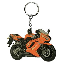 Bike It Kawasaki ZX6R 07 Rubber Keyfob - 90