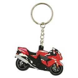 Bike It Kawasaki ZZR-1400 Rubber Keyfob - 96