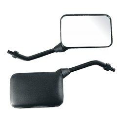 Bike It GP Sports Short Universal Mirrors With 10mm Thread