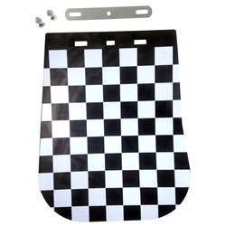 Bike It Chequered Mudflap