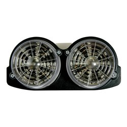 Bike It LED Rear Tail Light With Clear Lens And Integral Indicators - A003