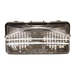 Bike It LED Rear Tail Light With Clear Lens And Integral Indicators - H027