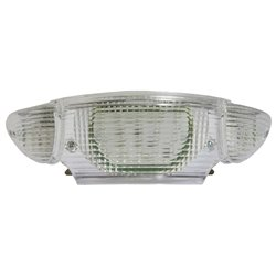 Bike It LED Rear Tail Light With Clear Lens And Integral Indicators - H033