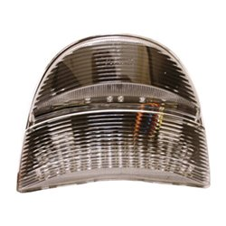 Bike It LED Rear Tail Light With Clear Lens And Integral Indicators - H058