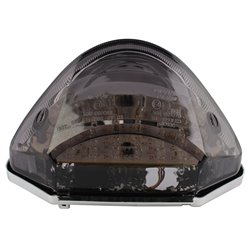 Bike It LED Rear Tail Light With Cool Grey Lens - H193