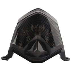 Bike It LED Rear Tail Light With Cool Grey Lens - K334