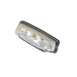Bike It Strike LED Stop/Tail Light With Clear Lens