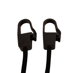 "Pack Of 10 Lockable Hook Elastics - 24"" Long"