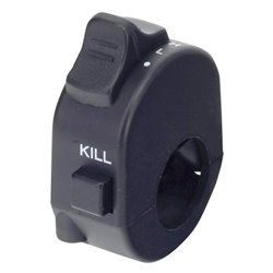 Bike It Uni Kill Switch Hi/Lo Beam - 6 Wires