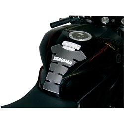 Bike It Carbon Effect Logo Spine Tank Pad - Yamaha