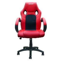 BikeTek Rider Chair Red With Black Trim - Ducati